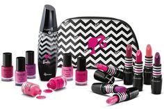 Make B Barbie Edition Cosmetic Packaging, Beauty Packaging, Makeup Eyeshadow, Makeup Cosmetics, Eyeshadow Palette, Makeup Kit For Kids, Barbie Makeup, Barbie Sisters, Makeup Gift Sets