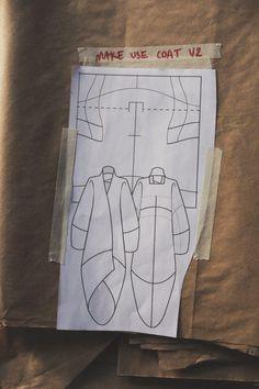 Long Coat | Make/Use - zero waste fashion