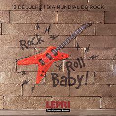 13 de julho, Dia Mundial do Rock! Comemore em alto e bom som! 🎸🤘🏼