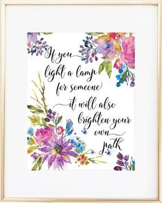 If You Light a Lamp / Great Mentor Gift!