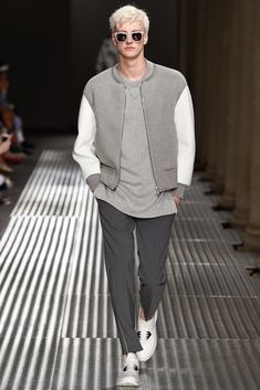 Neil Barrett Sharp, Yet Sporty Casual, a Huge Leap Above Sweats and a T-Shirt.