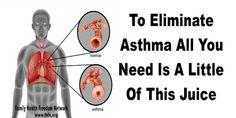 Stop Astma met slechts een beetje van dit Sap!