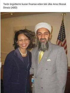 A newly declassified photo showing former Secretary of State Condoleezza Rice and 'terrorist' Osama Bin Laden has been released under the Freedom of Information Act. The photo shows the two partying at a wine and dine in an American owned bar at. Funny April Fools Pranks, Condoleezza Rice, Freedom Of Information Act, Hip Hop, Gear S, Actrices Hollywood, History Facts, Journalism, Black History