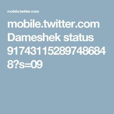 mobile.twitter.com Dameshek status 917431152897486848?s=09