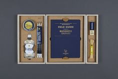 The Quintessentially Metaphorical Tuongee Survival Kit by Machine Agency, via Behance // Stunning design and display
