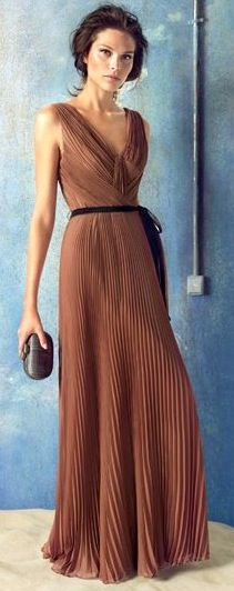 classic style rust maxi.