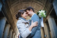 The elopement of Elena & Timmy at City Hall in New York City - JC Lemon, NYC Wedding & Elopement Photographer Wedding Photography Inspiration, Engagement Photography, New York City Hall, Wedding Engagement, Lemon, Nyc, Couple Photos, Wedding Dresses, Blog