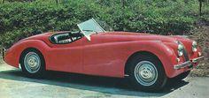Jaguar XK 120 (c.1948-1954) - alpha auto c.1976 / 77