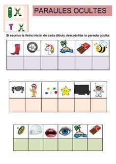 Actividad online de Paraules amb ix, tx para Segon de Primària. Puedes hacer los ejercicios online o descargar la ficha como pdf. Catalan Language, Early Finishers, Valencia, Language Arts, Infant, Writing, Education, Learning, School