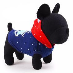 Classic Navy Dog Hoodie