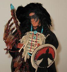 detail Indian doll by Diane Briegleb