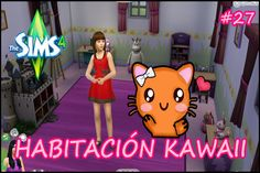 Los Sims 4 #27 - ¡Habitación niña Kawaii!