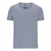 Goodyear Men Comfort Fit T-Shirt Nicholasville (Blue/White Stripes)…