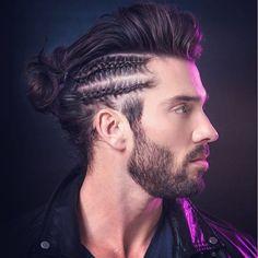 Man Braid Man Bun Braids for Men