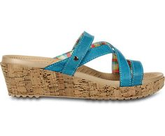 Crocs™ A-Leigh Mini Wedge Leather | Comfortable Women's Cork Wedge Sandal | Crocs Official Site