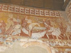 Les fresques romanes de Nohant-Vic (36) -