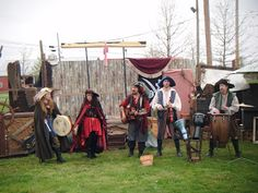 Parchment Paths: Pocono Mountains Renaissance Faire
