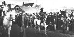 Sint en Piet te paard, intocht Roosendaal 1976