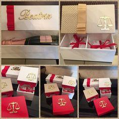 Caixas para doces e mini Chandon. Essas são de Beatriz, formanda Curso de Direito. Fazemos diversos modelos e para todos os cursos! #formandos2016 #mariadiva #evento #festa #love #amor#caixaspersonalizadas #lembrancas