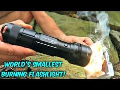Testing Flashlight Torch Mini - YouTube Super Bright Flashlight, Cool New Gadgets, Car Cleaning Hacks, Fire Starters, Small World, Science And Technology, Outdoor Power Equipment, Survival, Mini