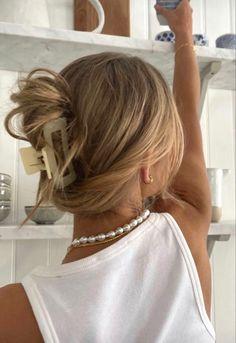 Hair Inspo, Hair Inspiration, Aesthetic Hair, Summer Aesthetic, Aesthetic Clothes, Good Hair Day, Dream Hair, Pretty Hairstyles, Summer Hairstyles