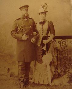 Grand Duke Vladimir and his wife, Grand Duchess Maria.