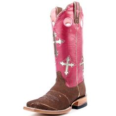 Ariat Brown Cross Ranchero Cowboy Boots|All Womens Western Boots