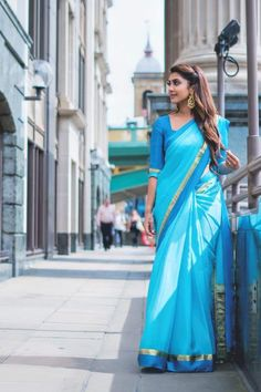 Indian Dresses, Indian Outfits, Ganesha, Blouse Designs Silk, Saree Photoshoot, Saree Dress, Saree Blouse, Stylish Sarees, Elegant Saree