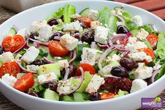 A classic salad with all the mediterranean ingredients like olives, feta and capsicum with splash of balsamic vinegar. Great for a side salad or BBQ's. Feta, Mediterranean Salad Recipe, Strawberry Avocado Salad, Greek Orzo Salad, Pasta Salad, Classic Salad, Salad Recipes, Healthy Recipes, Avocado Salat