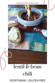 Looking for some comfort food? This quick and easy chili recipe is vegetarian and gluten free! It's super healthy too!