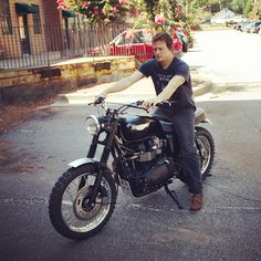 Norman Reedus on his Jack Pine, daily commuter