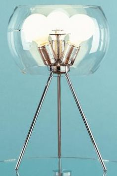 tripod table lamp, IN LOVE WITH THIS.