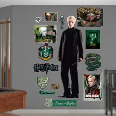 Harry Potter Draco Malfoy - Deathly Hallows Peel and Stick Wall Decal