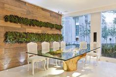 decoração com troncos de arvores - Pesquisa Google