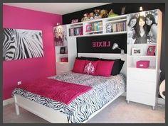 Teenage Bedroom Design Plans