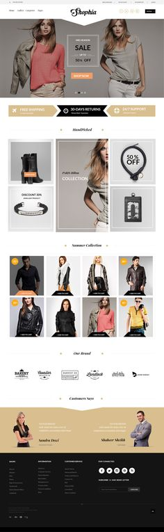 Shophia-FREE-eCommerce-Template