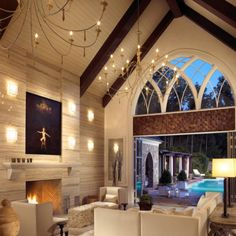 Would love to renovate an old church!