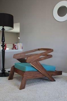 Custom Made Gibson Lounge Chair