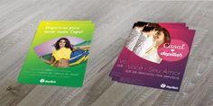 Confecção de informativos e cartazes de produtos e serviços do Instituto de Depilação Depillah.