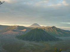L'alba dal monte Bromo