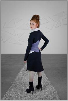 Robe Gros-col de Eve Lavoie - vendue chez Belle et Rebelle (www.belleetrebelle.ca)