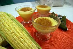 Salsa Com Pimenta: Receita de Curau de Milho