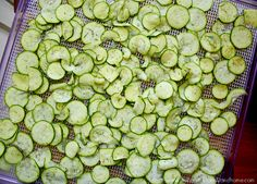 Lemon Dill Zucchini Chips #TheHealthyFamilyandHome