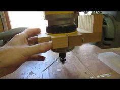 Overhead Router Support on Radial Arm Saw