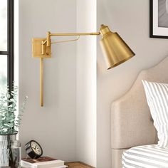 Swing Arm Wall Sconce, Plug In Wall Sconce, Wall Sconces, Bedroom Sconces, Bedside Lighting, Dim Lighting, Bathroom Vanity Lighting, Bedside Wall Lights, Kitchen Lighting