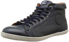 Pepe Jeans William Basic, Herren Sneaker  Blau Bleu (585Marine) 41 - http://on-line-kaufen.de/pepe-jeans/41-eu-pepe-jeans-william-basic-herren-sneaker-3