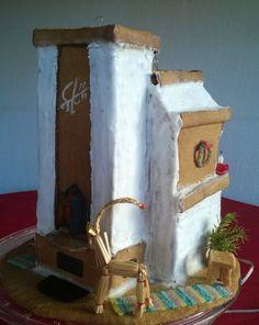 Piparista leivottu takka-leivinuuni-puuhella Gingerbread, Album, Ginger Beard, Card Book