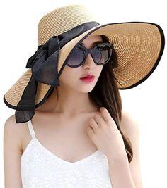 Sun Hat Sommer Strand Urlaub 100/% Baumwolle Retro Boden Damen Hut NEU