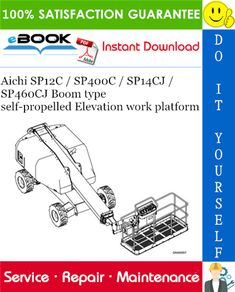 This is the COMPLETE Service Repair Manual for the Aichi / / / Boom type self-propelled Elevation work platform. It contains deep Control Unit, Control Valves, Gear Pump, Hydraulic Pump, Aichi, Windows Operating Systems, Type I, Repair Manuals, Self