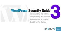 WordPress Security Guide #3 is now up!  Safeguard wp-admin, wp-includes, wp-config.php and keep your plugins updated to secure your WordPress blog/website.   Read more on the blog:  https://blog.znetlive.com/15-steps-to-secure-your-wordpress-site-3-safeguarding-wp-admin-wp-includes-wp-config-php-disallowing-file-editing-updating-plugins/